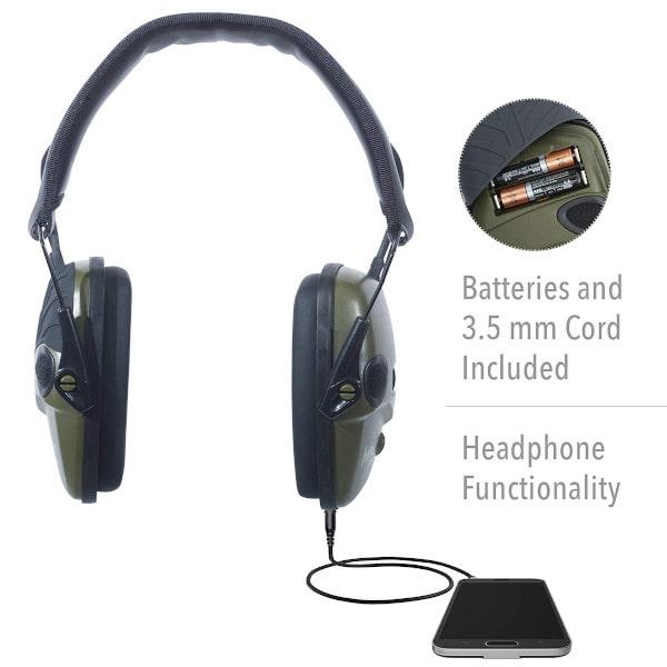 protectores auditivos electronicos para tiro
